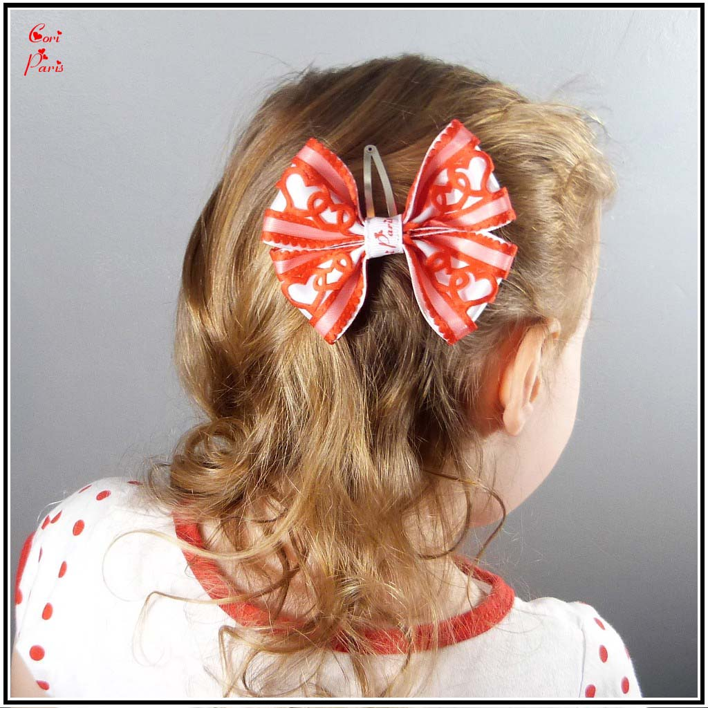 Bow Hair Clip For Babies And Girls, Valentineu0027s Day 2017 Special Edition  From Cori Paris