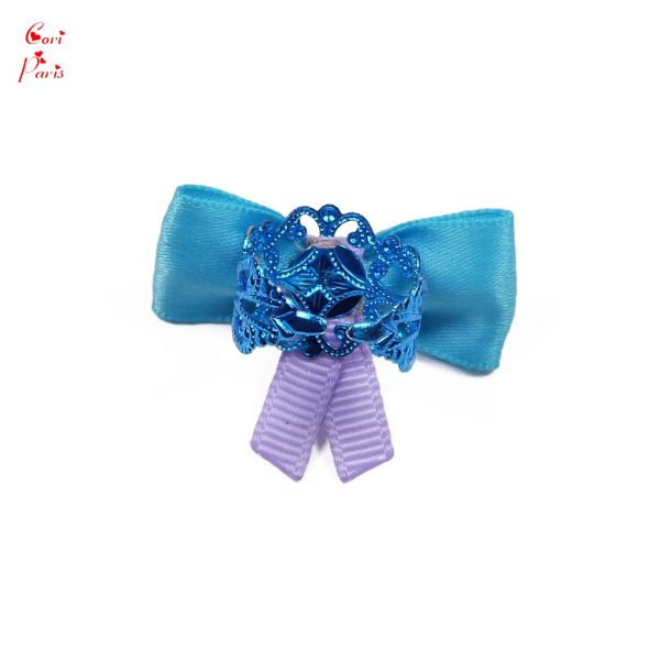 Gift for new mother - adjustable blue ribbon ring