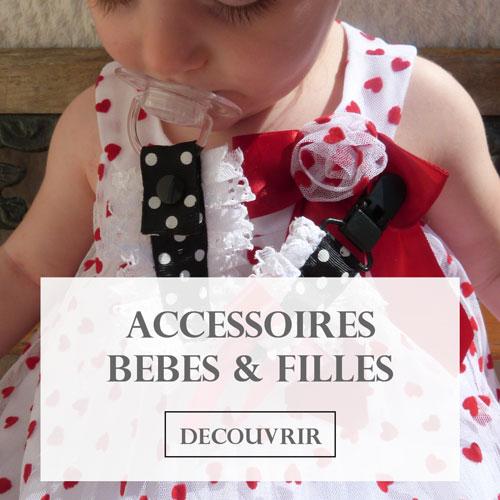 Accessoires pour bébés et petites filles de chez Cori Paris