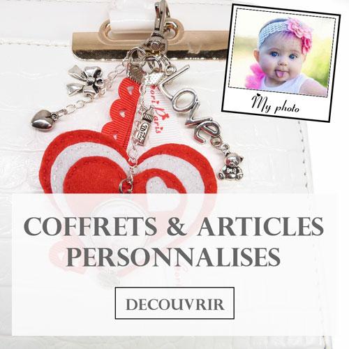 Coffrets cadeaux et articles personnalisés pour bébés et jeunes mamans de Cori Paris