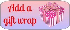 Gift wrapping option for Cori Paris products