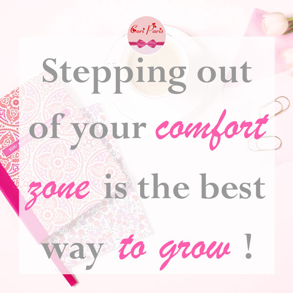 Motivational quote - Stepping out of your comfort zone is the best way to grow
