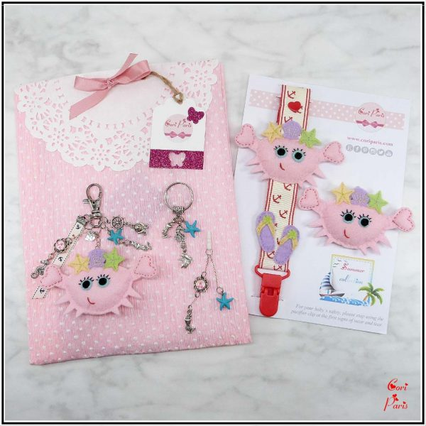 New baby gift basket, original mommy and me gifts from Cori Paris